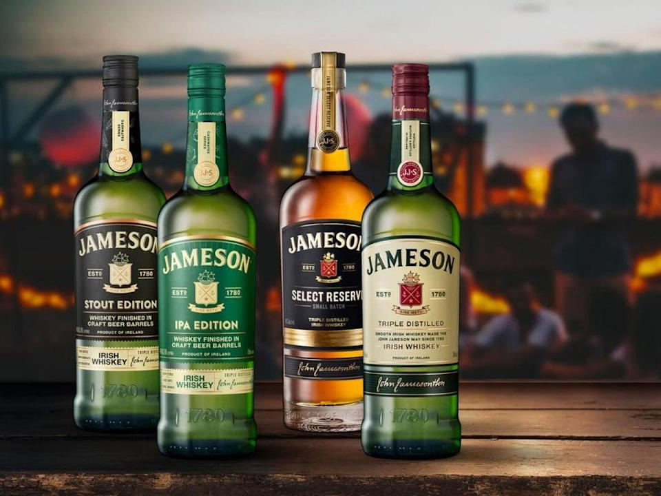 Jameson whiskey owner Pernod Ricard has seen profits and sales rise (Pernod Ricard/PA)