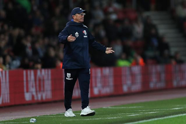 The pressure is mounting on Baggies boss Tony Pulis.