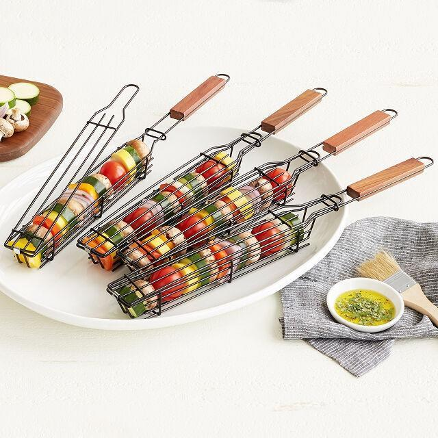 Kabob Grilling Baskets, best gifts for dad