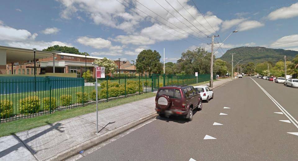 Wollongong High School of Performing Arts pictured from Google Streetview.