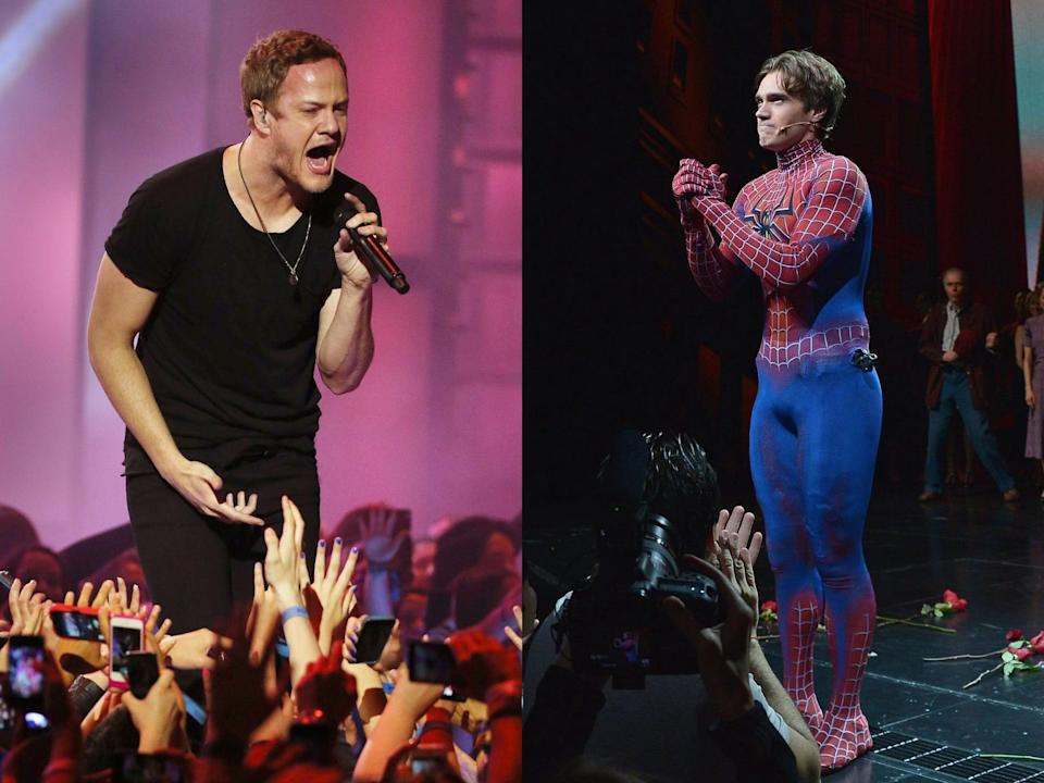 spider man imagine dragons musical
