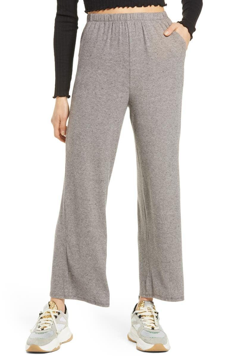 <p>Get these <span>All In Favor Wide Leg Lounge Pants</span> ($18, originally $35) for the days you still wish you were in sweats.</p>