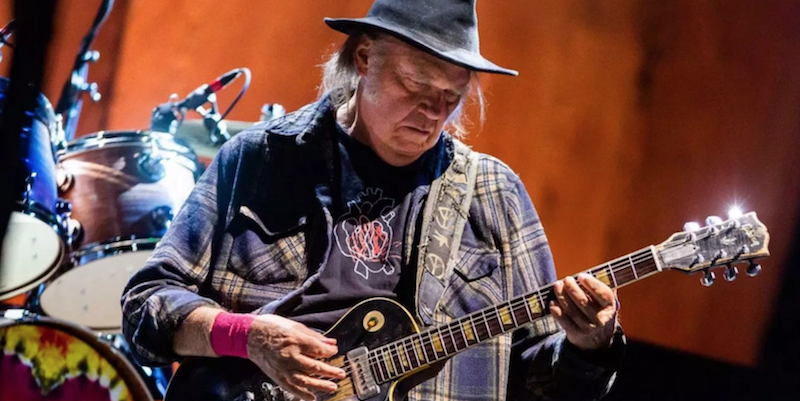 Neil Young postpones 2019 tour plans to work on documentary, 14 music films