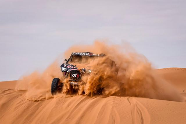 "#403 Red Bull Off-Road Team USA OT3: Cyril Despre, Mike Horn <span class=""copyright"">A.S.O. </span>"