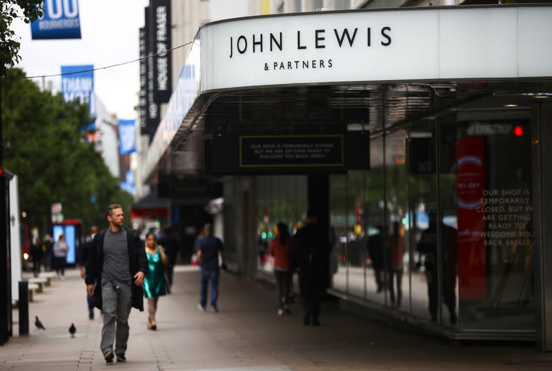 Another 1,300 jobs at risk in UK retail sector as John Lewis shuts eight stores