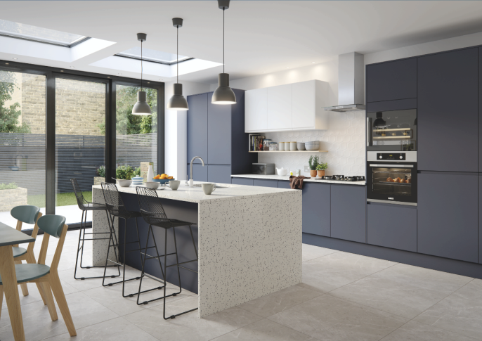 "<p>A timeless trend, kitchen ranges in shades of black, white, charcoal and even midnight are still proving to stand the test of time. Monochromatic kitchen colour schemes offer a sleek and elegant design that will complement a modern apartment or can be incorporated into a traditional kitchen for the perfect family home. </p><p>Houzz notes that black interiors are gaining popularity. Searches for 'dark' and 'black' interiors appear in its most popular list for the first time, while searches for 'black kitchen' has increased 46% year-on-year.</p><p>Pictured: <a href=""https://www.magnet.co.uk/"" target=""_blank"">Magnet</a></p>"
