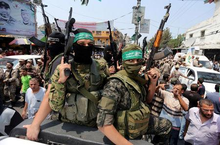 Attacker blows himself up at Hamas base in Gaza