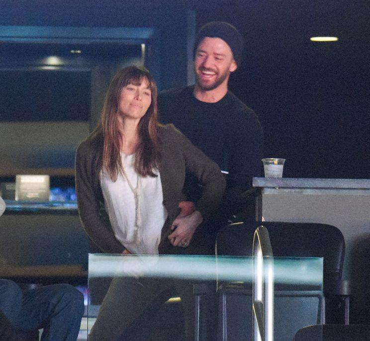 Jessica Biel 'Can't Stop The Feeling' As She Dances