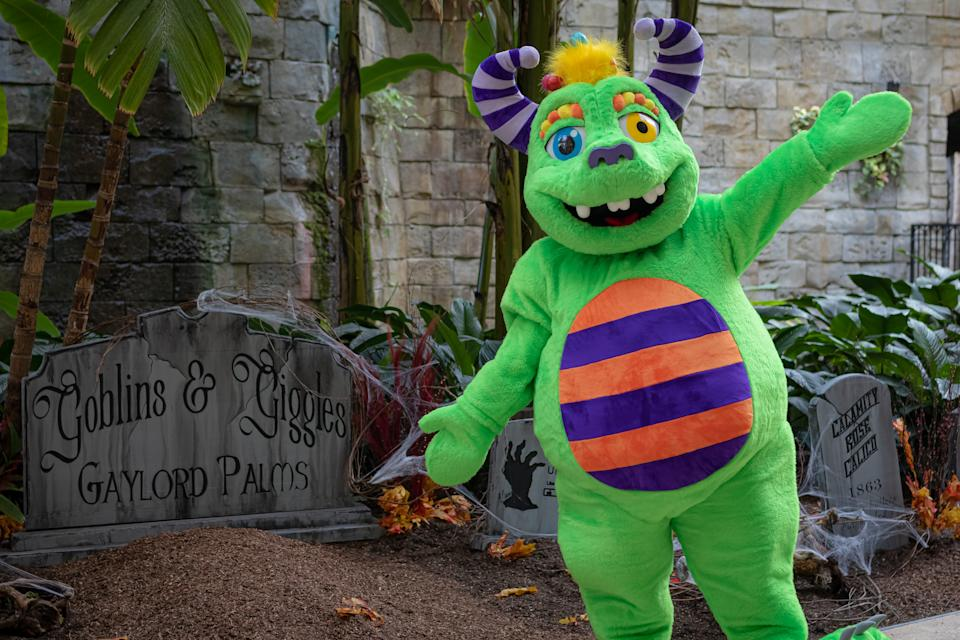 There will be a variety of family friendly Halloween-themed activities at Goblins & Giggles Getaway weekends at Gaylord Palms Resort in Orlando. The experience is offered weekends through Oct. 31, 2020. Visit gaylordpalms.com.