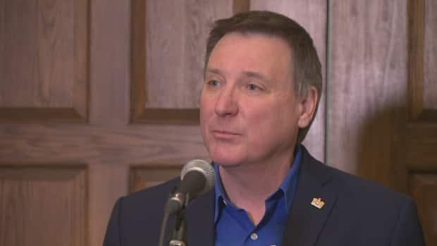David Brazil will now serve as interim leader of the PC party.