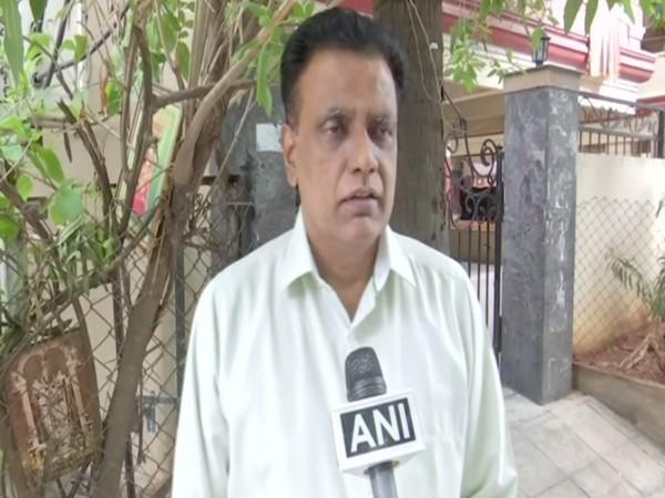 Telangana BJP senior leader NV Subhash applauded the approval of Rs 23,123 crore package for improving health infrastructure to fight Covid-19 by Union Cabinet (Photo/ANI)