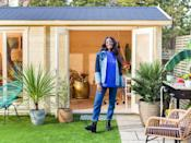 """<p>Thinking of getting a summer house for your own garden? AJ says it's a great, cost effective way of upgrading and extending your space.</p><p>'A summer house is also really cost effective, as it's ideal for making the most of the outdoors and creating more space in your home without forking out for an extension,' she explains. 'I'm currently renovating my home and so sticking to a budget and thinking outside of the box is a must!'</p><p><strong>Follow House Beautiful on <a href=""""https://www.instagram.com/housebeautifuluk/"""" rel=""""nofollow noopener"""" target=""""_blank"""" data-ylk=""""slk:Instagram"""" class=""""link rapid-noclick-resp"""">Instagram</a>.</strong><br><br>Like this article? <a href=""""https://hearst.emsecure.net/optiext/cr.aspx?ID=DR9UY9ko5HvLAHeexA2ngSL3t49WvQXSjQZAAXe9gg0Rhtz8pxOWix3TXd_WRbE3fnbQEBkC%2BEWZDx"""" rel=""""nofollow noopener"""" target=""""_blank"""" data-ylk=""""slk:Sign up to our newsletter"""" class=""""link rapid-noclick-resp"""">Sign up to our newsletter</a> to get more articles like this delivered straight to your inbox.</p><p><a class=""""link rapid-noclick-resp"""" href=""""https://hearst.emsecure.net/optiext/cr.aspx?ID=DR9UY9ko5HvLAHeexA2ngSL3t49WvQXSjQZAAXe9gg0Rhtz8pxOWix3TXd_WRbE3fnbQEBkC%2BEWZDx"""" rel=""""nofollow noopener"""" target=""""_blank"""" data-ylk=""""slk:SIGN UP"""">SIGN UP</a></p><p>Love what you're reading? Enjoy <a href=""""https://go.redirectingat.com?id=127X1599956&url=https%3A%2F%2Fwww.hearstmagazines.co.uk%2Fhb%2Fhouse-beautiful-magazine-subscription-website&sref=https%3A%2F%2Fwww.housebeautiful.com%2Fuk%2Fgarden%2Fg36462362%2Faj-odudu-garden-summer-house%2F"""" rel=""""nofollow noopener"""" target=""""_blank"""" data-ylk=""""slk:House Beautiful magazine"""" class=""""link rapid-noclick-resp"""">House Beautiful magazine</a> delivered straight to your door every month with Free UK delivery. Buy direct from the publisher for the lowest price and never miss an issue!</p><p><a class=""""link rapid-noclick-resp"""" href=""""https://go.redirectingat.com?id=127X1599956&url=https%3A%2F%2Fwww.hearstmagazines.co.uk%2Fhb%2Fhouse-b"""