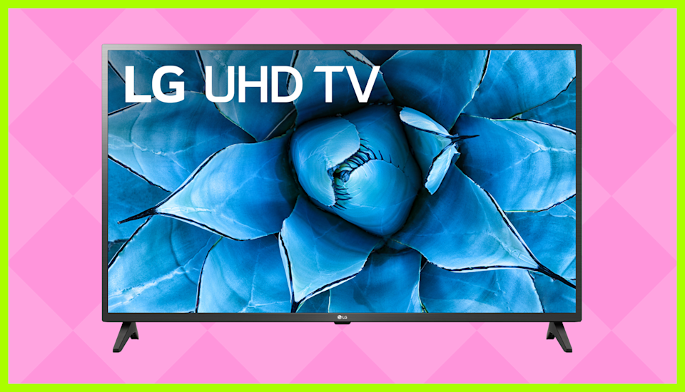 Save $323 on this LG 55-inch Class 4K Ultra HD Smart TV. (Photo: Walmart)