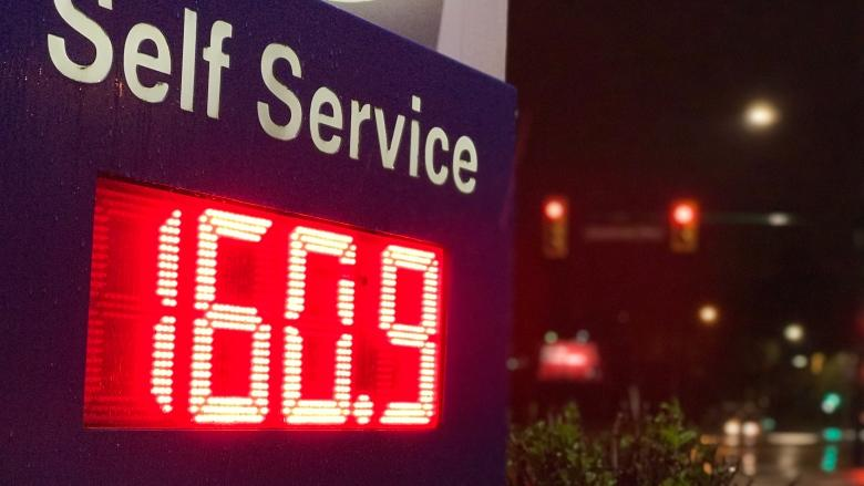 Lower Mainland gas prices hit record-breaking 160