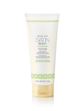 """<p><strong>Mary Kay</strong></p><p>marykay.com</p><p><strong>$18.00</strong></p><p><a href=""""https://www.marykay.com/en-us/products/all/white-tea-citrus-satin-body-revitalizing-shea-scrub-301352"""" rel=""""nofollow noopener"""" target=""""_blank"""" data-ylk=""""slk:Shop Now"""" class=""""link rapid-noclick-resp"""">Shop Now</a></p><p>Formulated with softening shea butter and sunflower oil, this scrub is gentle enough to use daily and will leave skin polished, refreshed, and as smooth as satin—hence the name.</p>"""
