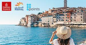 Mashreq Bank partners with Emirates Skywards to announce new Salaam rewards benefit powered by Points International