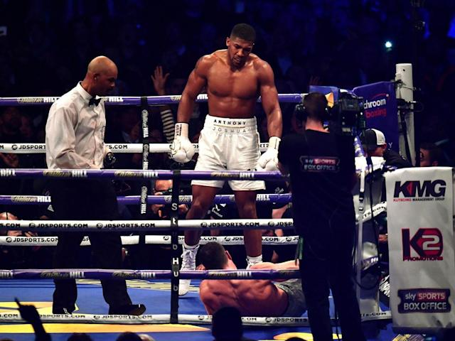 Anthony Joshua sets sights on fighting a 'real villain' next after defeating Wladimir Klitschko