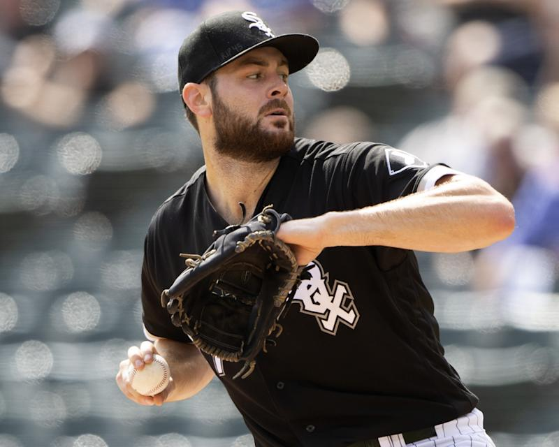 Will White Sox opening day starter Lucas Giolito become MLB's next elite ace? (Photo by Ron Vesely/MLB Photos via Getty Images)