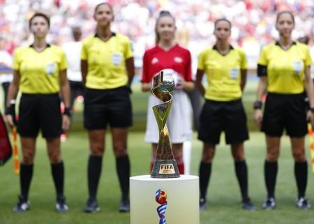 FILE PHOTO: Soccer: Womens World Cup-USA vs Netherlands