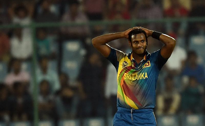 Sri Lanka's Angelo Mathews, pictured on March 26, 2016, is strategising for his team's Test series with England later this month