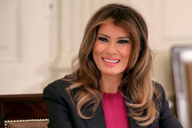 Melania Trump Is Aware You See the Irony in Her Anti-Cyberbullying Campaign