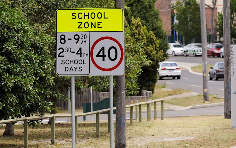 Drivers should be alert school zones are being enforced today. Source: AAP