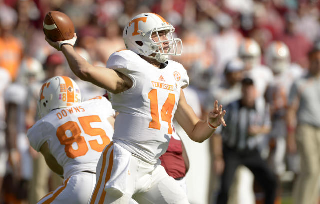 Justin Worley named Tennessee's starting quarterback