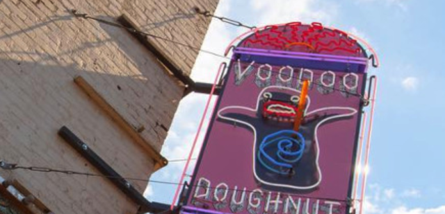 Voodoo Doughnut is the latest target of a right-wing conspiracy theory. (Photo: Voodoo Doughnuts)