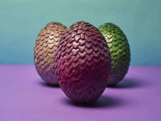The Game of Thrones-inspired dragon Easter eggs being offered by Deliveroo (Deliveroo)