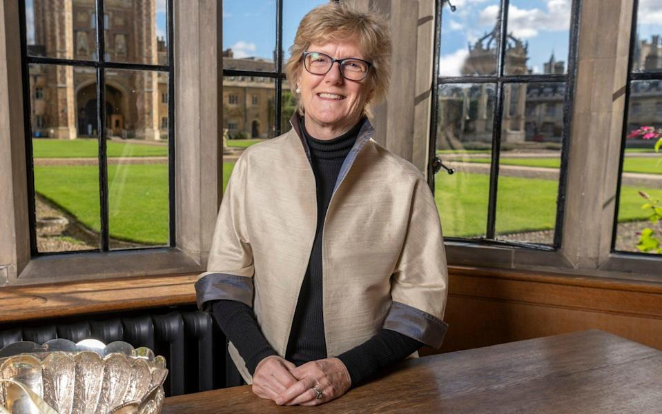 Dame Sally Davies said: 'I think the public deserves to know everything' - Paul Grover for the Telegraph