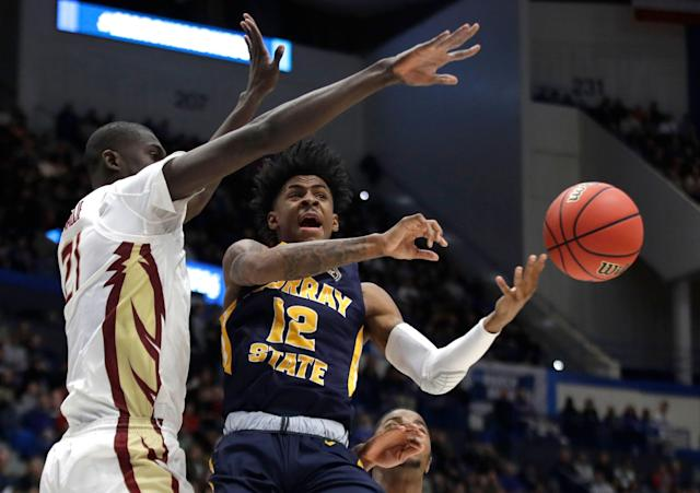 Florida State looked like a true national title contender in bullying Ja Morant and Murray State. (AP)