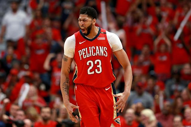 Yahoo Sports NBA insiders Chris Mannix and Brian Scalabrine debate whether or not Pelicans twenty-five-year-old big man Anthony Davis has become the best overall player in the NBA.