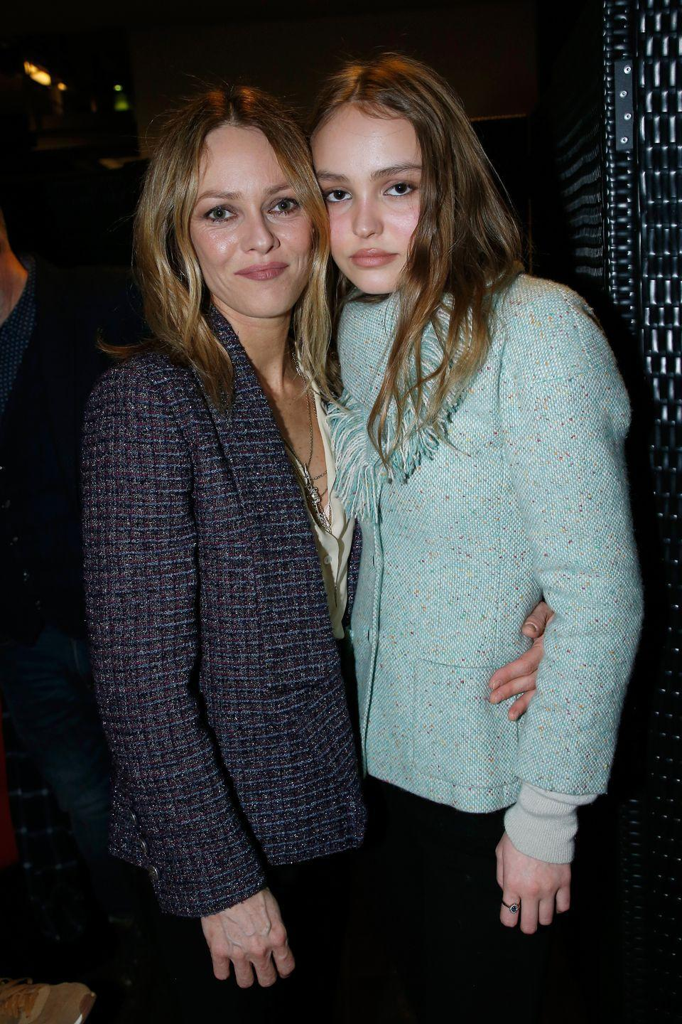 <p>Like mother, like daughter: The modeling genes run strong in this family. Vanessa Paradis and Johnny Depp's 21-year-old daughter, Lily-Rose Depp, looks exactly like her mom. The budding model and actress even followed in Paradis's footsteps as a model for Chanel. <br></p>