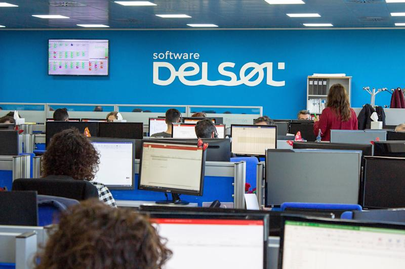 Sala de trabajo de la empresa. (Photo: SOFTWARE DEL SOL)