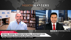 Michael Rogers, President and CEO of 4WL Consulting, was interviewed on Mission Matters Business Podcast by Adam Torres.