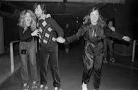 <p>The two A-listers seem close while roller skating at La Main Jaune nightclub. Both in...</p>