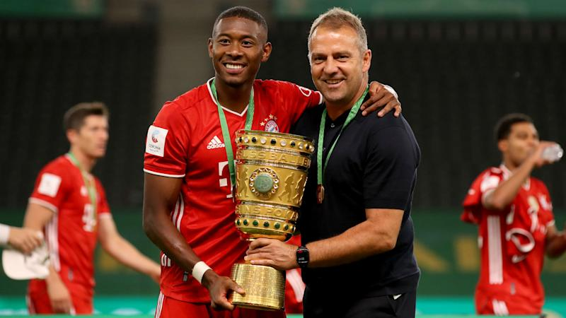 Alaba finishing his career at Bayern would be special - Flick
