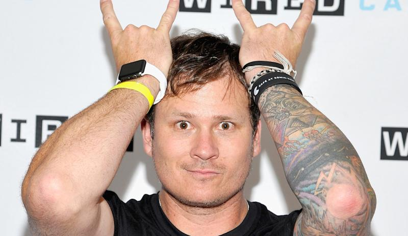 Musician Tom DeLonge attends WIRED Cafe at Comic-Con 2015 in San Diego at Omni Hotel on July 9, 2015, in San Diego, California.
