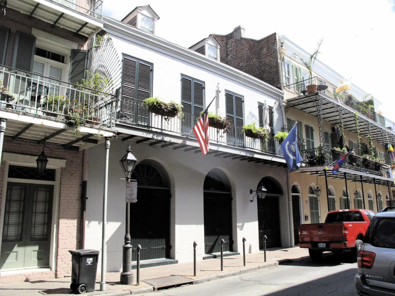 "Brad and Angelina recently listed their 1830s home located in New Orleans' French Quarter for $6.5 million. The historic property features five bedrooms and 3.5 baths as well as an elevator and a separate guest house. A rep for the couple told PEOPLE that they intended to find another property in the city, where Brad is deeply involved in the charitable organization Make it Right, but are looking for something ""more off the beaten path."" Though they will be giving up the opportunity for neighborly banter with Matthew McConaughhey, who lives across the street."
