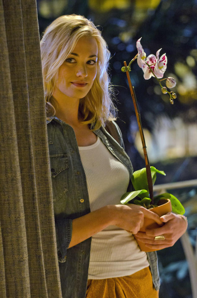 "Yvonne Strahovski as Hannah McKay in the ""Dexter"" episode, ""Do the Wrong Thing."""