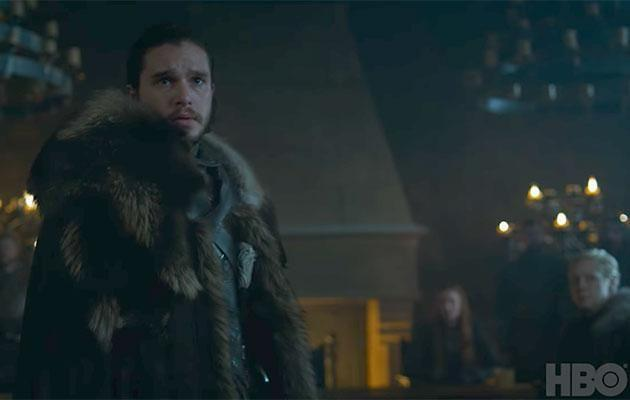 Oh hey there, Jon. Source: HBO