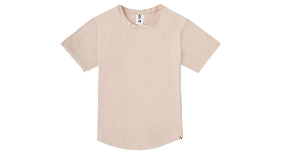 classic crew neck t-shirt dusty
