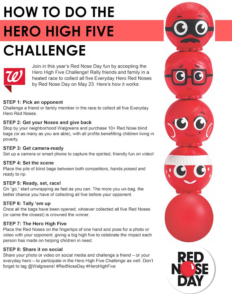 a5d274979fd668 Walgreens Launches Everyday Hero Squad of Five New Red Noses, Kicks Off Red  Nose Day's Fifth Annual Campaign