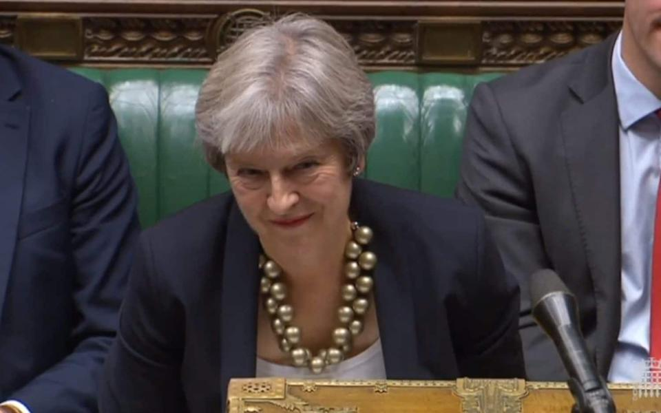 Prime Minister is at odds with her Scottish MPs - PA