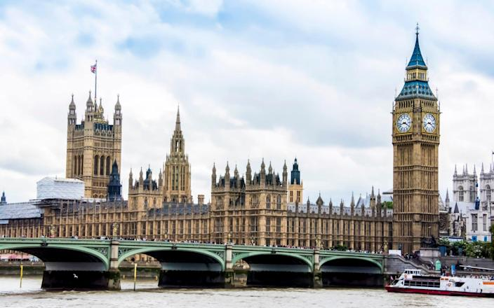 The Houses of Parliament - Moment RF
