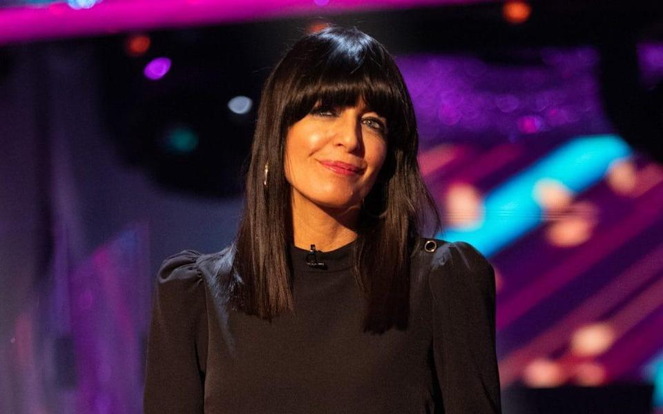 Claudia Winkleman, one of the BBC's top presenters, pictured at the end of last year - Guy Levy/BBC