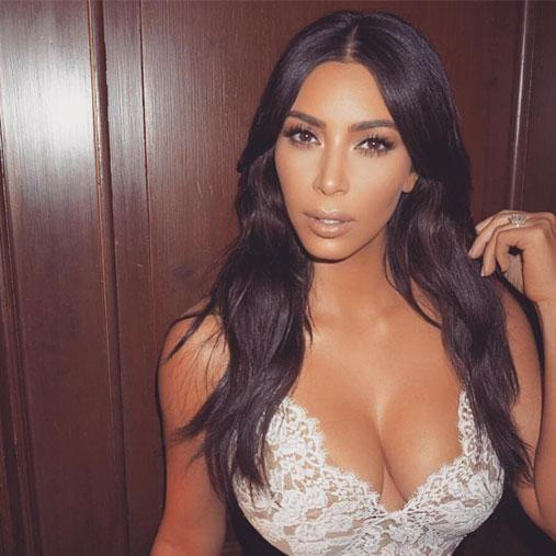 Kim has come in second place using the face mapping technique. Photo: Instagram/kimkardashian