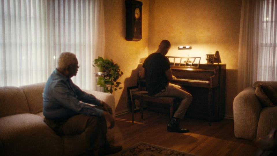 Horace Bowers Sr. and Kris Bowers in 'A Concerto Is a Conversation'