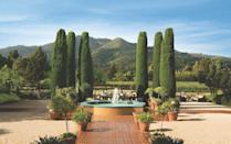 """<p><a href=""""https://www.landmarkwine.com/"""" rel=""""nofollow noopener"""" target=""""_blank"""" data-ylk=""""slk:Landmark Vineyards"""" class=""""link rapid-noclick-resp"""">Landmark Vineyards</a> was founded in 1974 and is famous for producing exceptional Chardonnay and Pinot Noir. Grapes are aged in French oak barrels to bring aromatic, complex, and expressive wines to life in the California vernacular, while nodding to the old world way of doing things. </p><p>Landmark is home to two tasting rooms, one in Kenwood, and the other in Healdsburg. The former, shown here, is located in the foothills of the Mayacamas Mountains and offers tastings of the label's most renowned wines, plus, small production, winery-only bottles. Horticulture lovers will adore the Sensory Tasting at the estate's lush gardens that allows guests to experience wines alongside fresh herbs and flowers to further explore the sensory aspects of enjoying wine.</p>"""