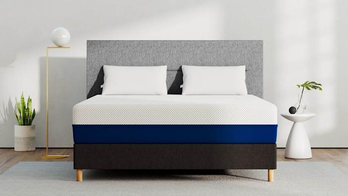 Amerisleep's plant-based mattresses are ultra responsive and spring back quickly.
